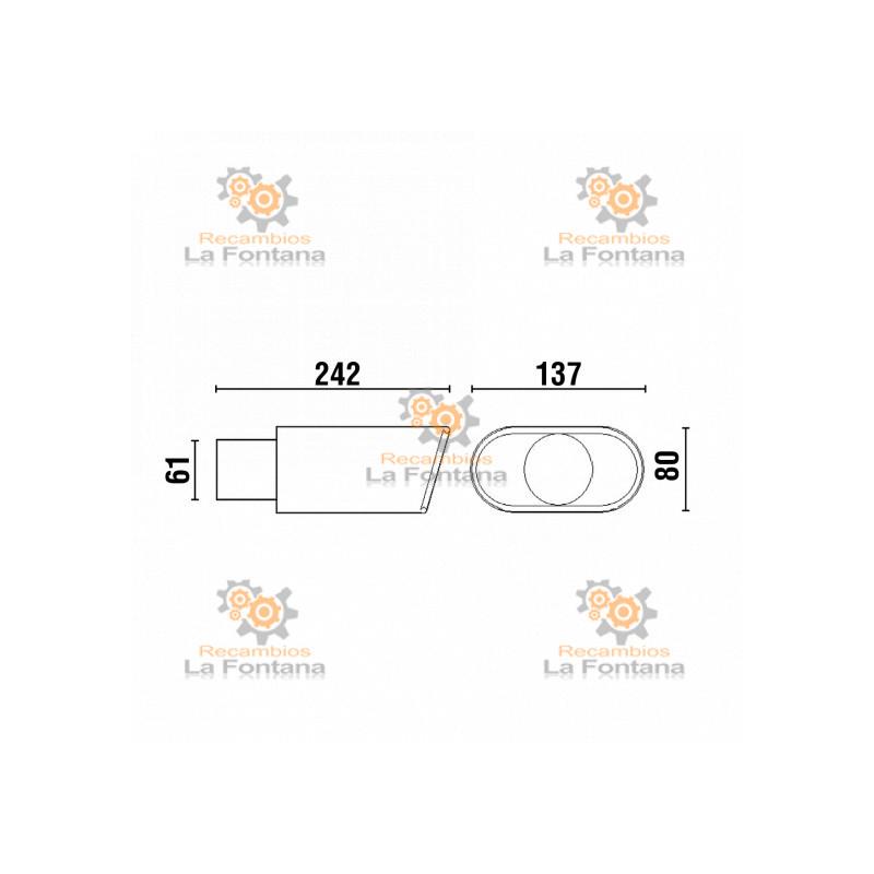Filtro monoblock soplado fml 1cv veneto recambios la fontana for Auriculares para piscina